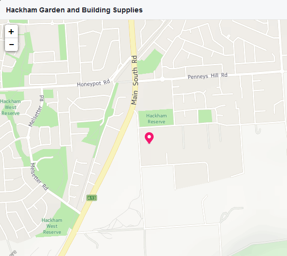 Hackham Garden location