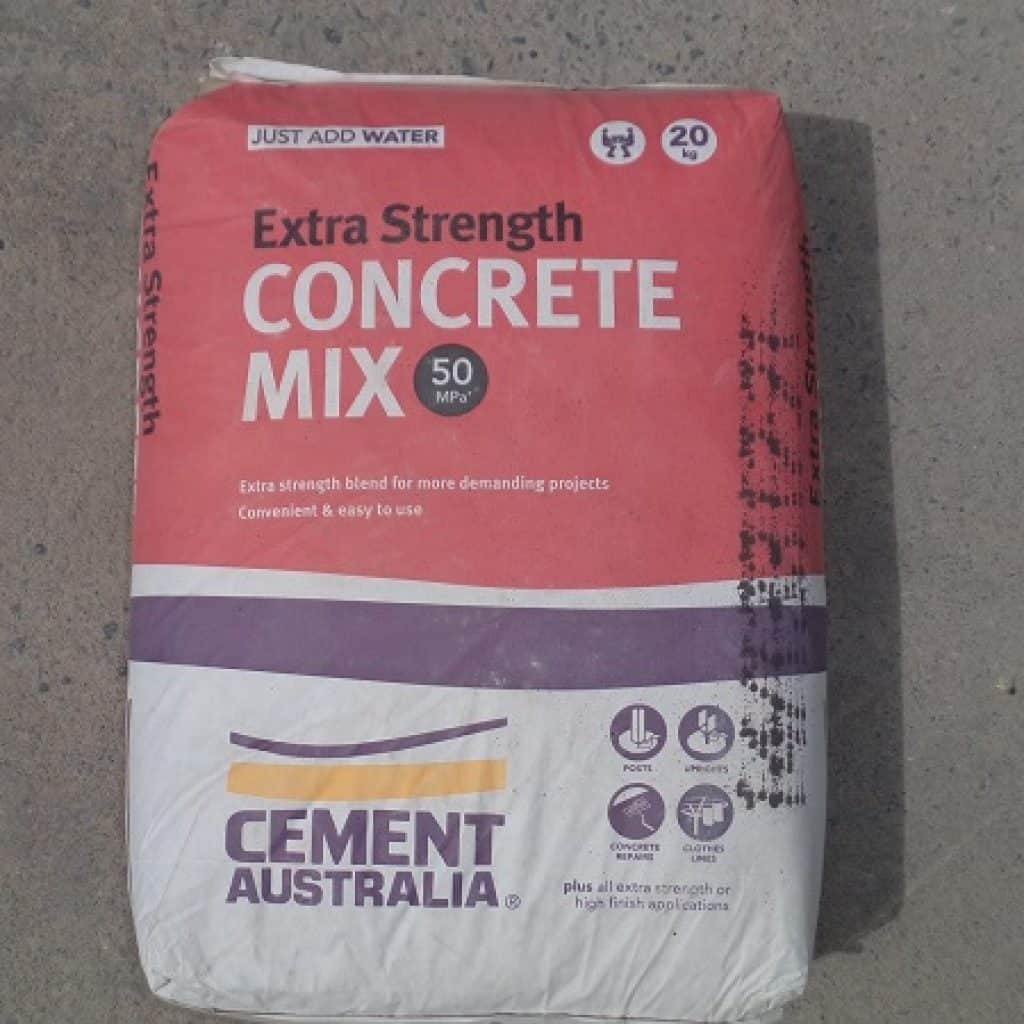 Extra Strength Concrete Mix